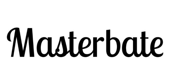 Masterbateflyer